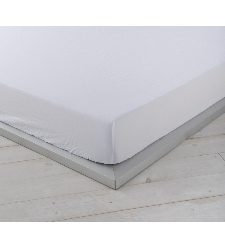 Comprar Naturals Plateau de basses réglable lin blanc -Lit 150cm