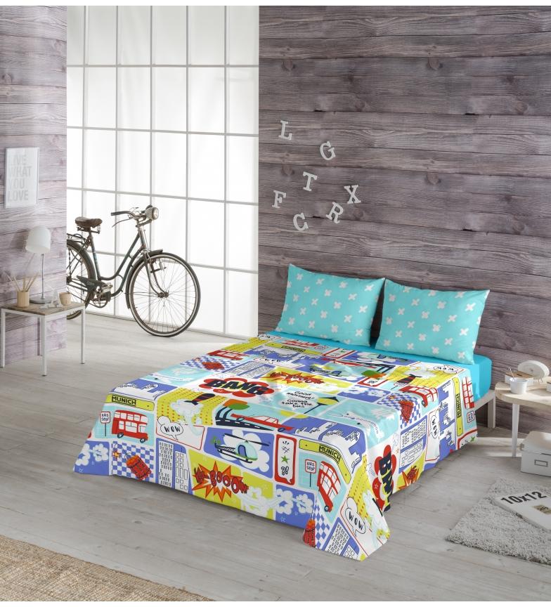 Comprar Munich Conjunto de folhas Play Kid -Bed 90cm