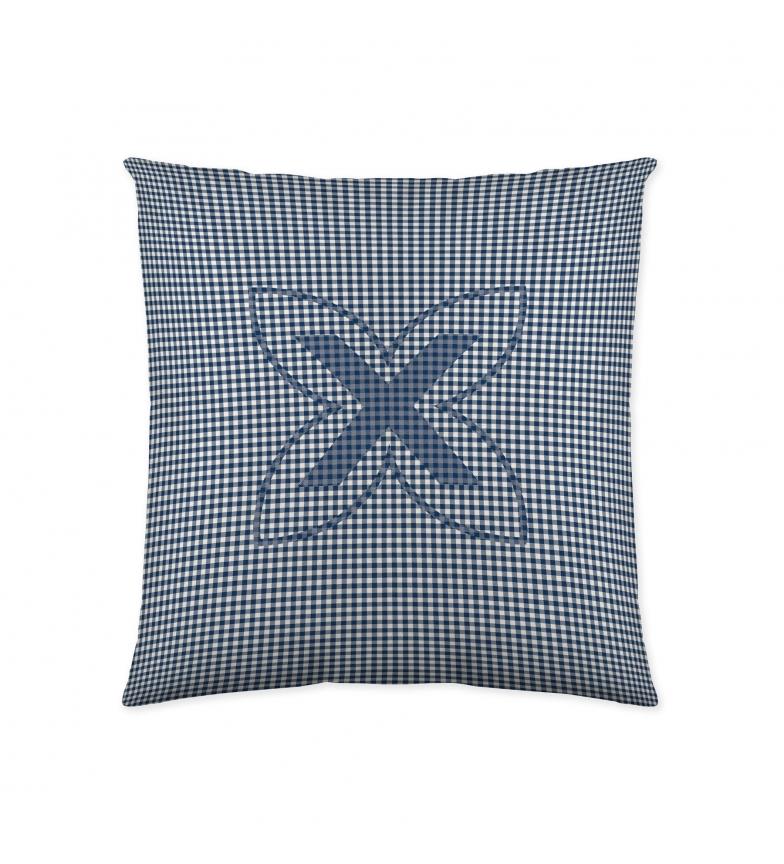 Comprar Munich Cushion cover with zipper Cuadro Vichy -50x50cm