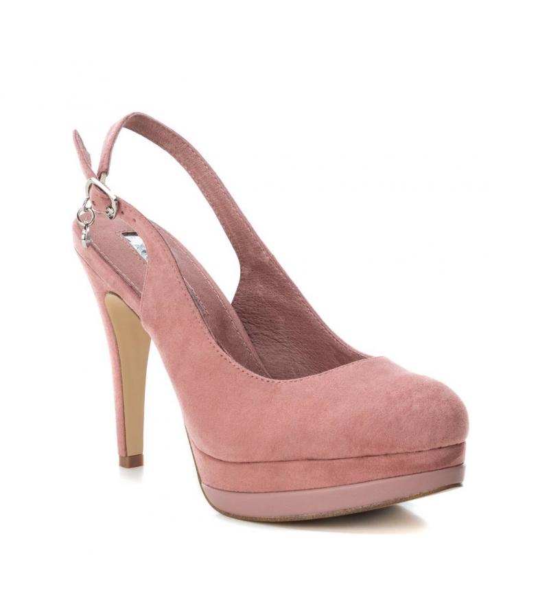 Xti-Scarpa-tacco-fine-salone-tacco-035005-nudo-Altezza-tacco-12cm-Donna miniatura 4