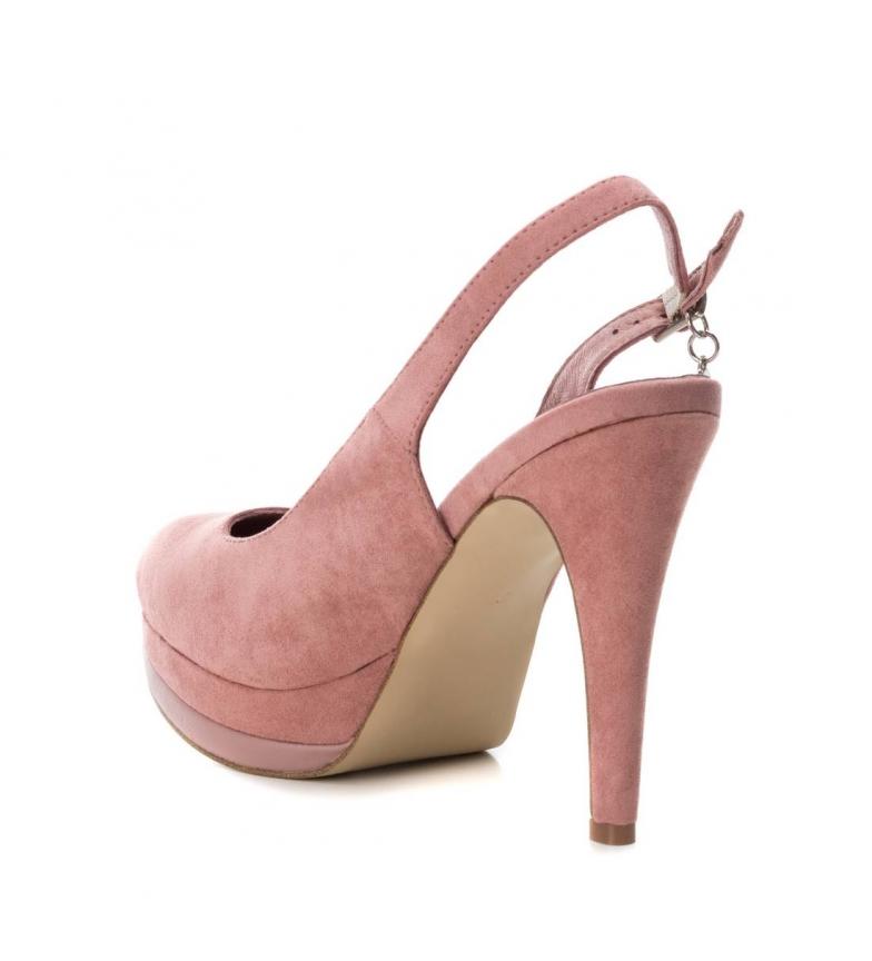 Xti-Scarpa-tacco-fine-salone-tacco-035005-nudo-Altezza-tacco-12cm-Donna miniatura 5
