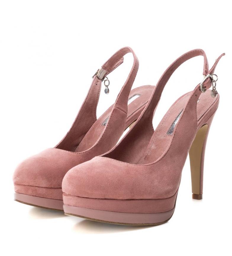 Xti-Scarpa-tacco-fine-salone-tacco-035005-nudo-Altezza-tacco-12cm-Donna miniatura 6