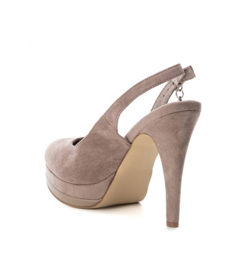 Xti-Scarpa-tacco-fine-salone-tacco-035005-nudo-Altezza-tacco-12cm-Donna miniatura 10