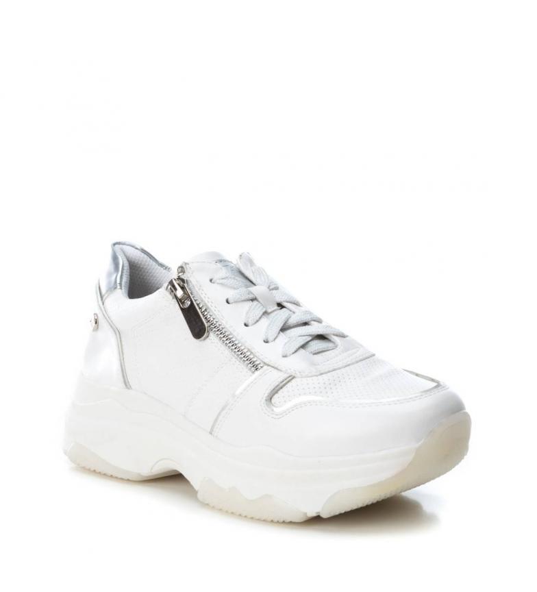 A Stringhe Basso Beige Bianco 049030 Donna Cm 1 Xti Sintetico Casual 3 Scarpa Xwvf6qxn0