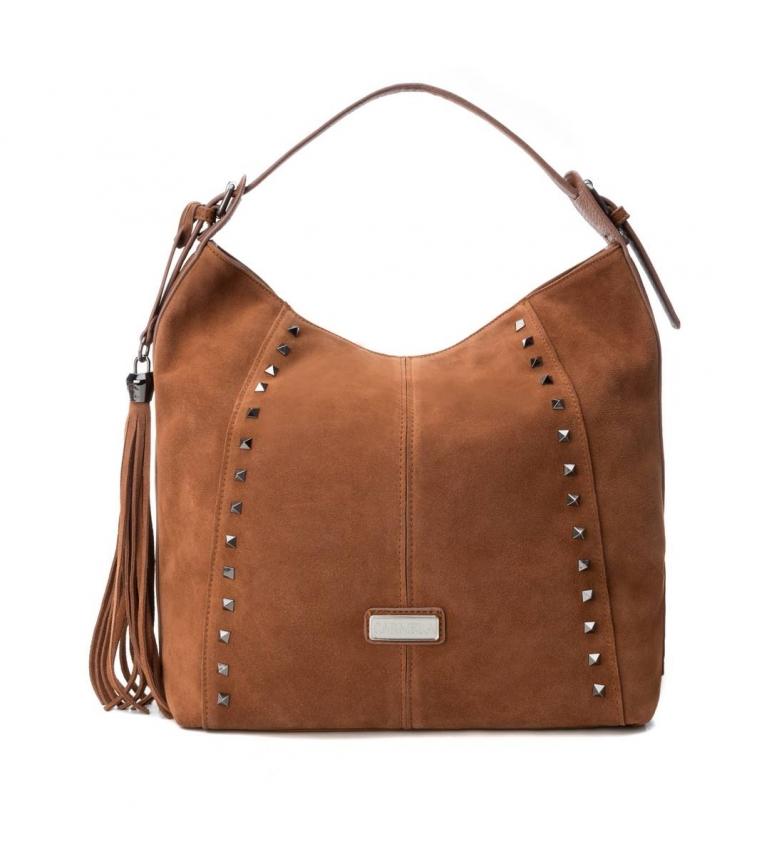 Comprar Carmela Leather bag 086094 camel -32x32x12cm