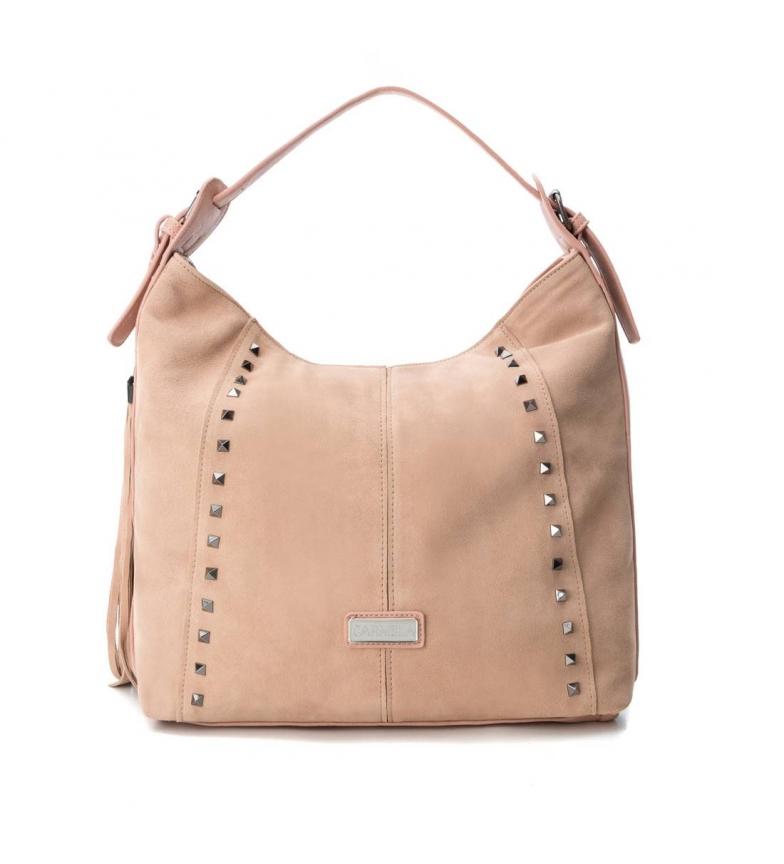 Comprar Carmela Leather bag 086094 nude -32x32x12cm