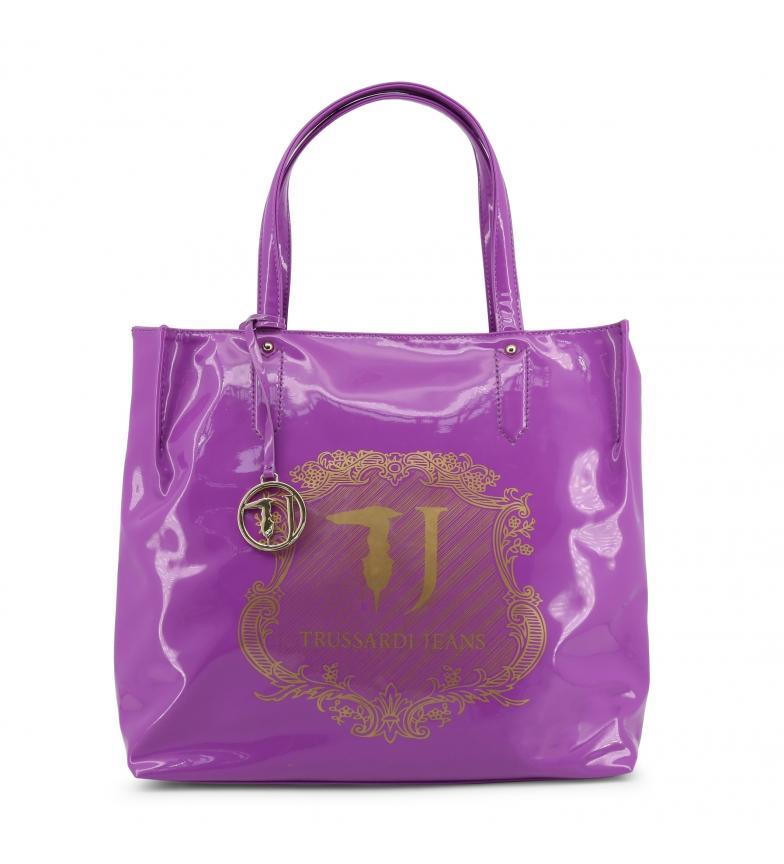 Comprar Trussardi Shopping bag 75B01VER violet -36x34x13cm-