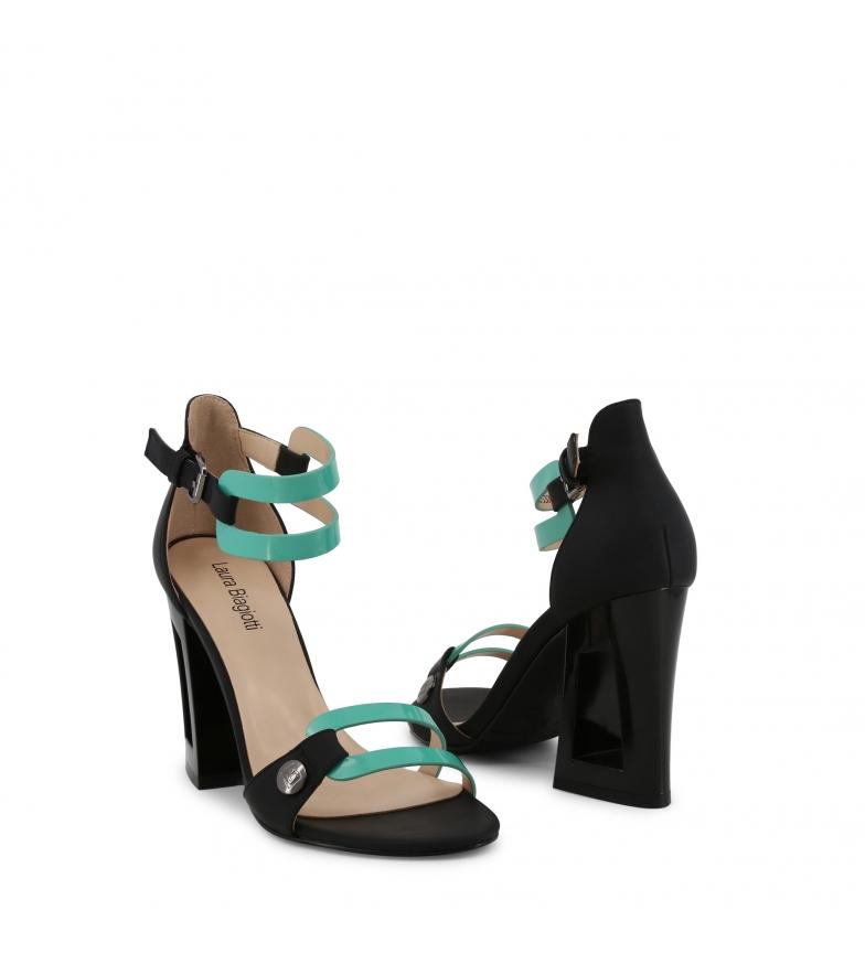 Laura-Biagiotti-Sandali-5309-verde-Donna-8-a-10cm-piu-di-10cm-Fibbia-Casual miniatura 3