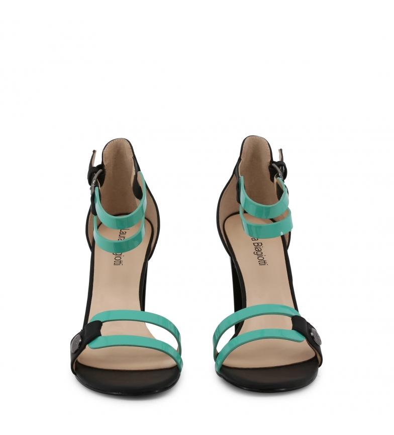 Laura-Biagiotti-Sandali-5309-verde-Donna-8-a-10cm-piu-di-10cm-Fibbia-Casual miniatura 4