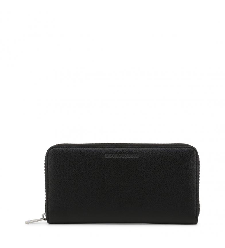 Comprar Emporio Armani Portafoglio in pelle Y4R169-YEW1E nero -21,5x11x2,5cm