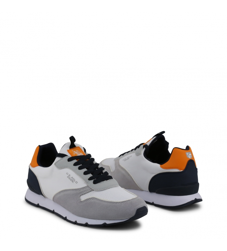Polo Gris chico Azul Sneakers Blanco ts1 Tela U White s Hombre Maxil4058s9 1zqv6WwSx5