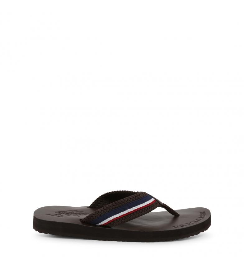 Comprar U.S. Polo Assn. Pantofole EGADI4111S9_T1 marrone