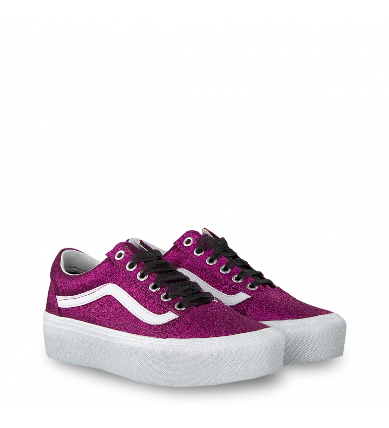 Vans platform Plataforma3 Old skool Violetaltura 5cm Sneakers doerxWCB