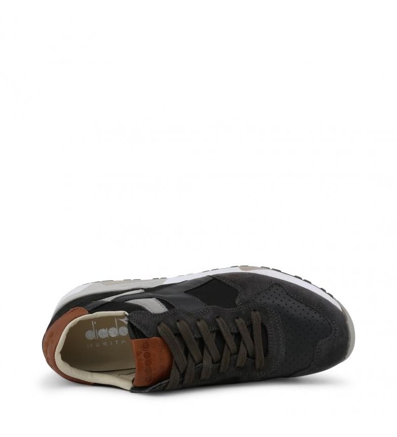 Sneakers Trident Piel nyl Grey Diadora 90 De tChrBsdxQ