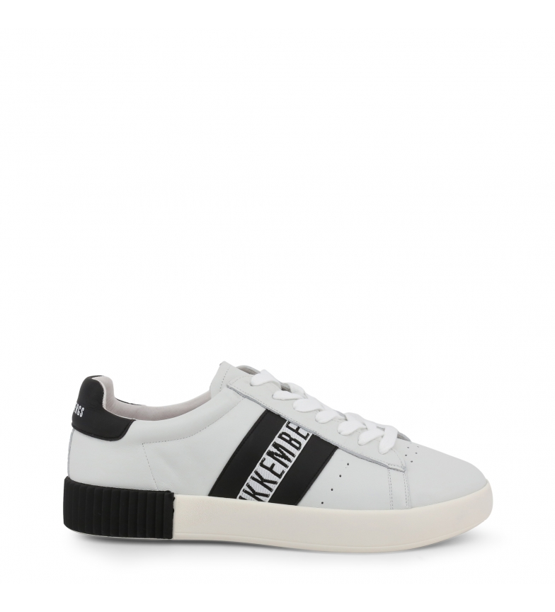 Comprar Bikkembergs COSMOS_2434 white leather sneakers