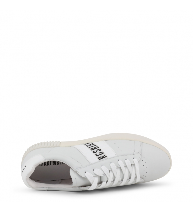 Bikkembergs Cosmos Piel Sneakers White 2434 De ZiTOkXPu