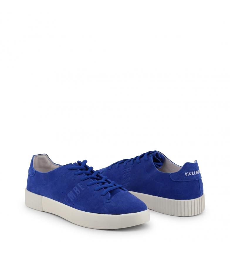 Sneakers 2100 Blue Cosmos Bikkembergs suede pqzSUVGM