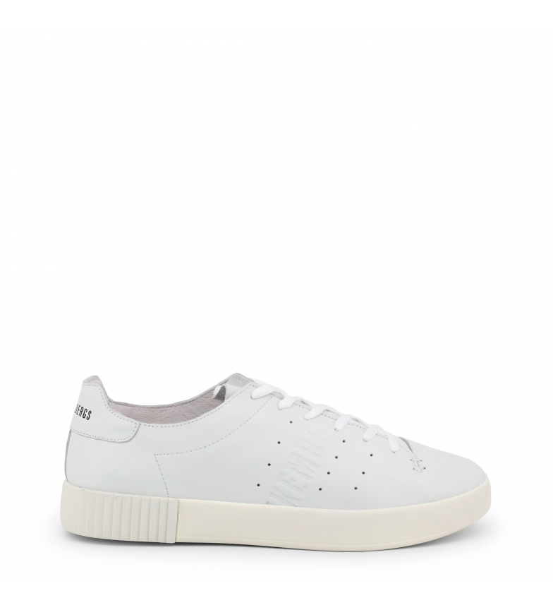 Comprar Bikkembergs COSMOS_2100 white leather sneakers