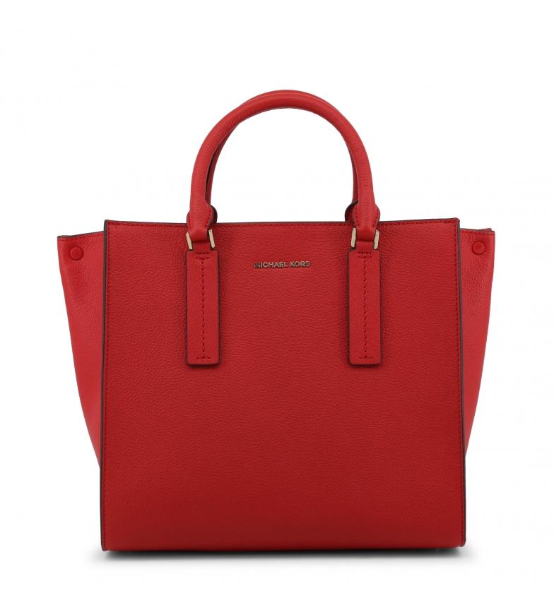 Comprar Michael Kors Bolsos de mano de piel 30S9G0AS3T red -36,5x27x16,5cm-
