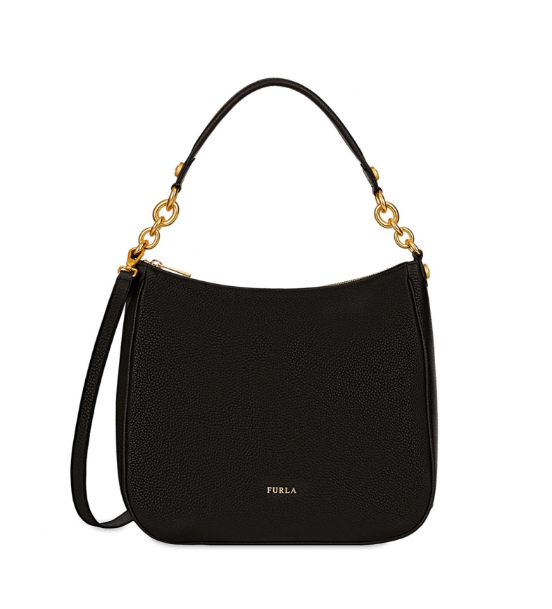 Comprar Furla Leather handbags 998485 black -30x26,5x11cm