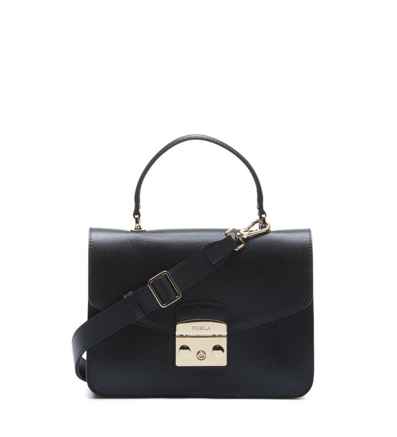 Comprar Furla Bolsos de mano de piel 908102 black -29x22x12cm-