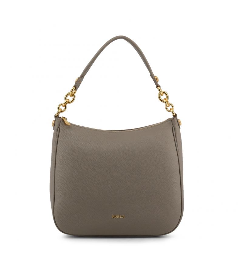Comprar Furla Bolsos de piel 998482 grey -30x26,5x11cm-