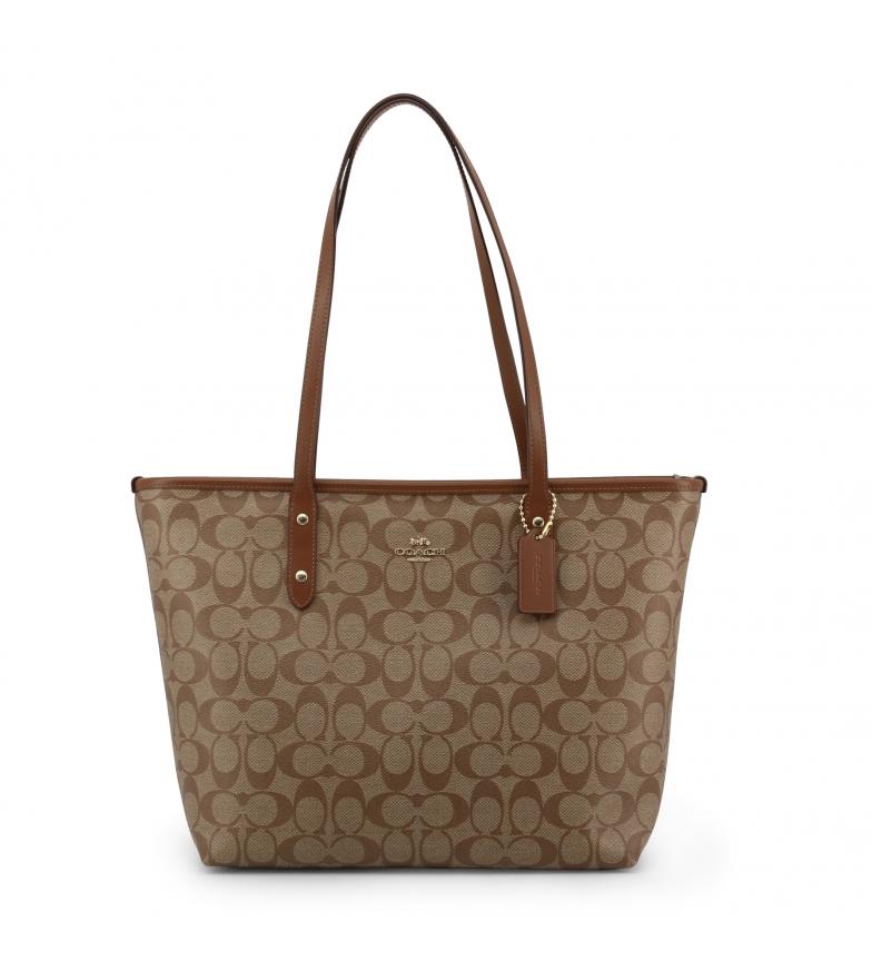 Comprar Coach Shopping bag F58292 brown -40x26x14cm