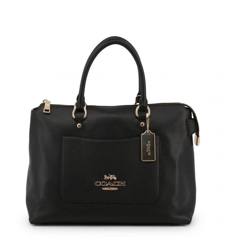 Comprar Coach Leather handbags F31467 black -34x23x14cm