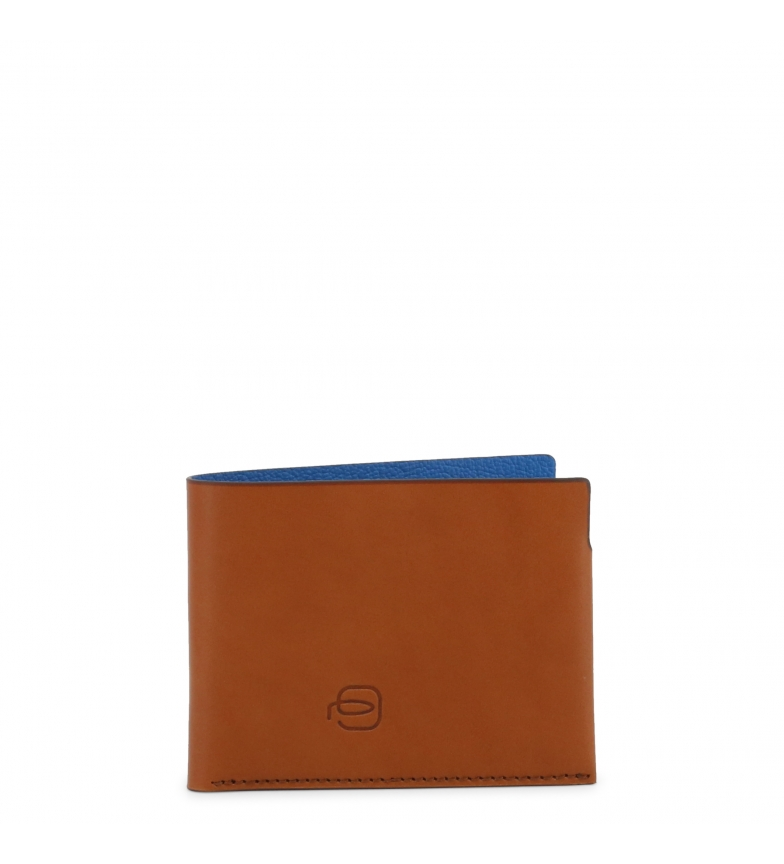 Comprar Piquadro Leather Wallet PP4248BM brown -11,5x8,5x2cm