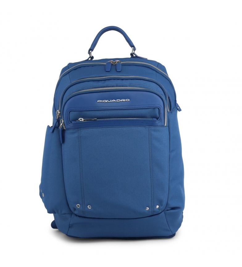 Piquadro Mochilas OUTCA2961LK blue -30,5x47x15cm-