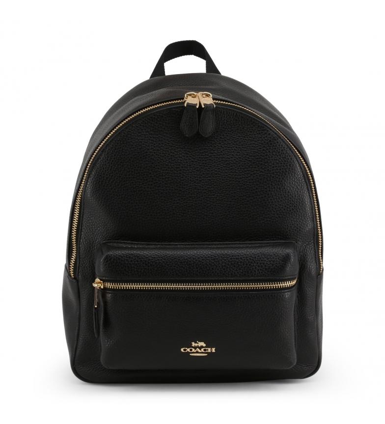 Comprar Coach Leather Backpack F30550 black -28x33x15cm