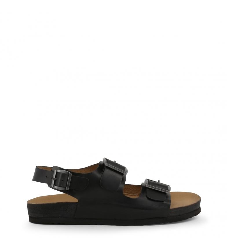 Comprar Docksteps VEGA-2288_BLACK sandales en cuir noir