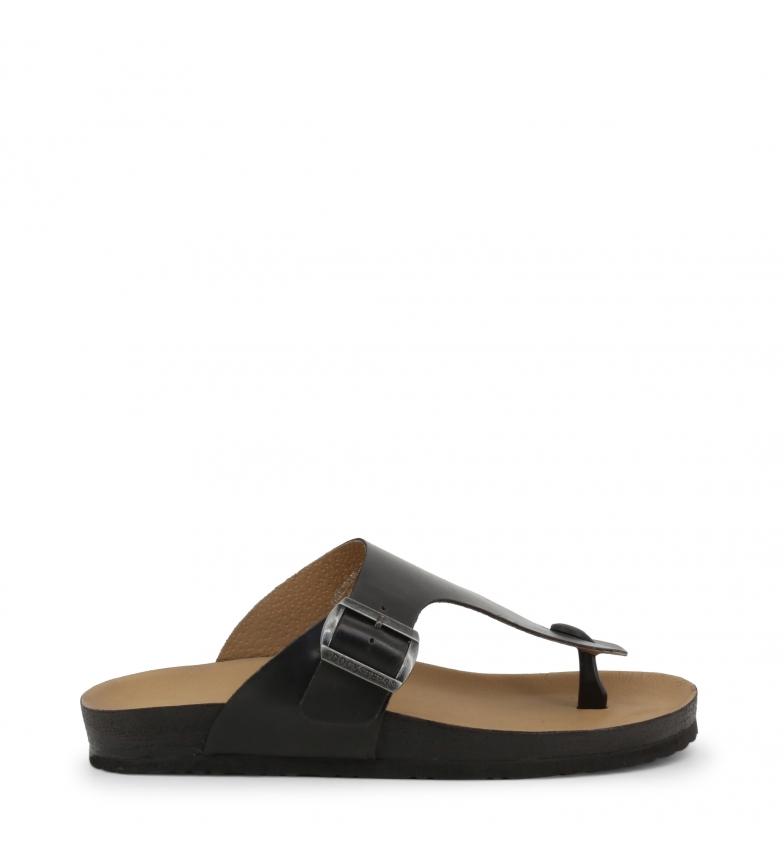 Comprar Docksteps VEGA-2284_BLACK black leather sandals