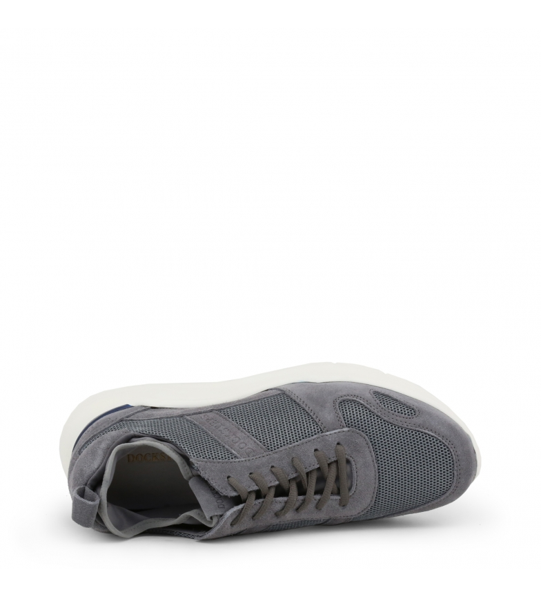 Docksteps 2260 Grey Sneakers low Cabot grey ZTwXiOPku