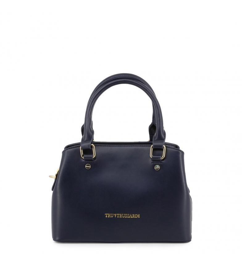 Comprar Trussardi Leather handbags 76BTBQAL03 blue