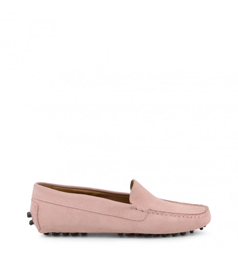 Comprar Made In Italia Leather loafers FOTOROMANZA_CAM pink