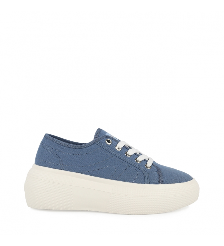 Comprar Chika10 Alma 03 chaussures bleu clair - Hauteur de semelle : 6.5cm