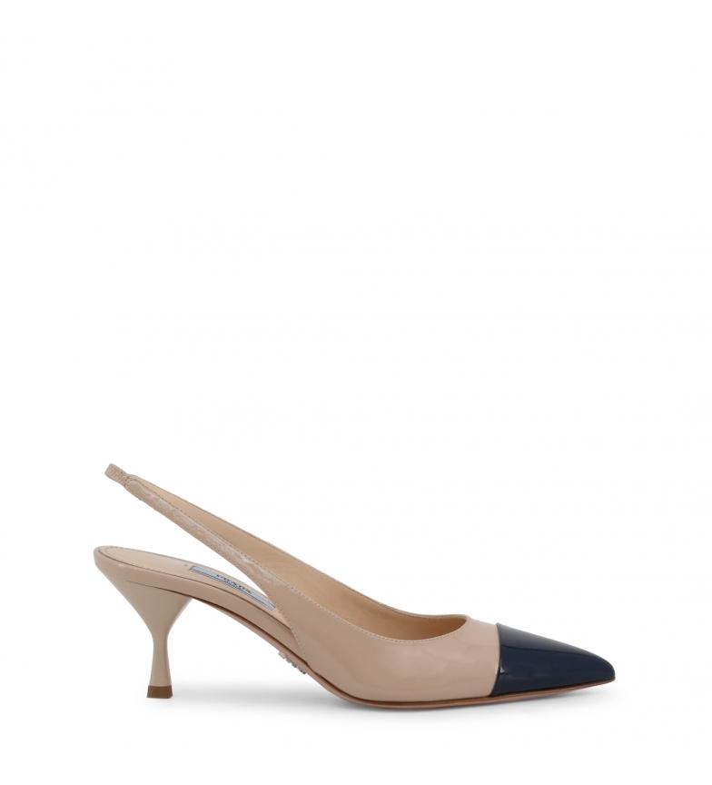 Comprar Prada Zapatos de piel 1I272L brown -Altura tacón: 7cm-