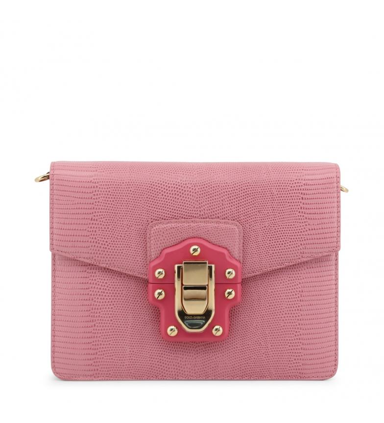 Comprar Dolce & Gabbana Borsa a tracolla in pelle BB631AA10958 rosa -23x17x17x6cm