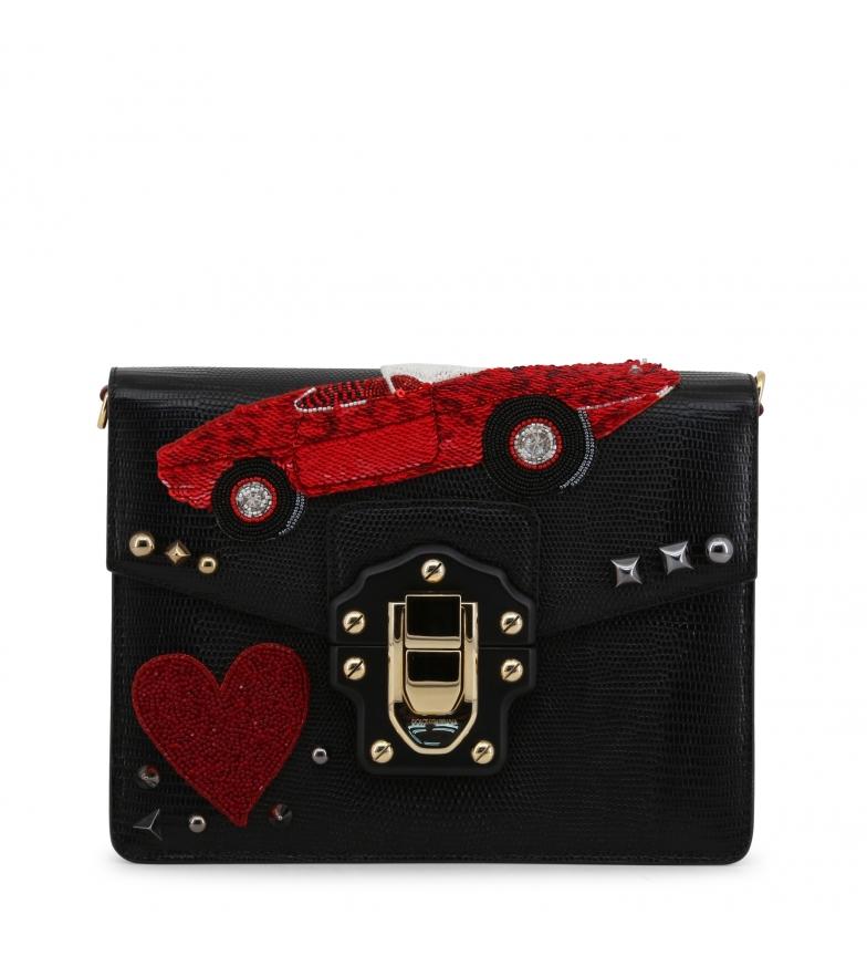 Comprar Dolce & Gabbana Bandolera de piel BB631AAS4768 black -23x17.5x7cm-