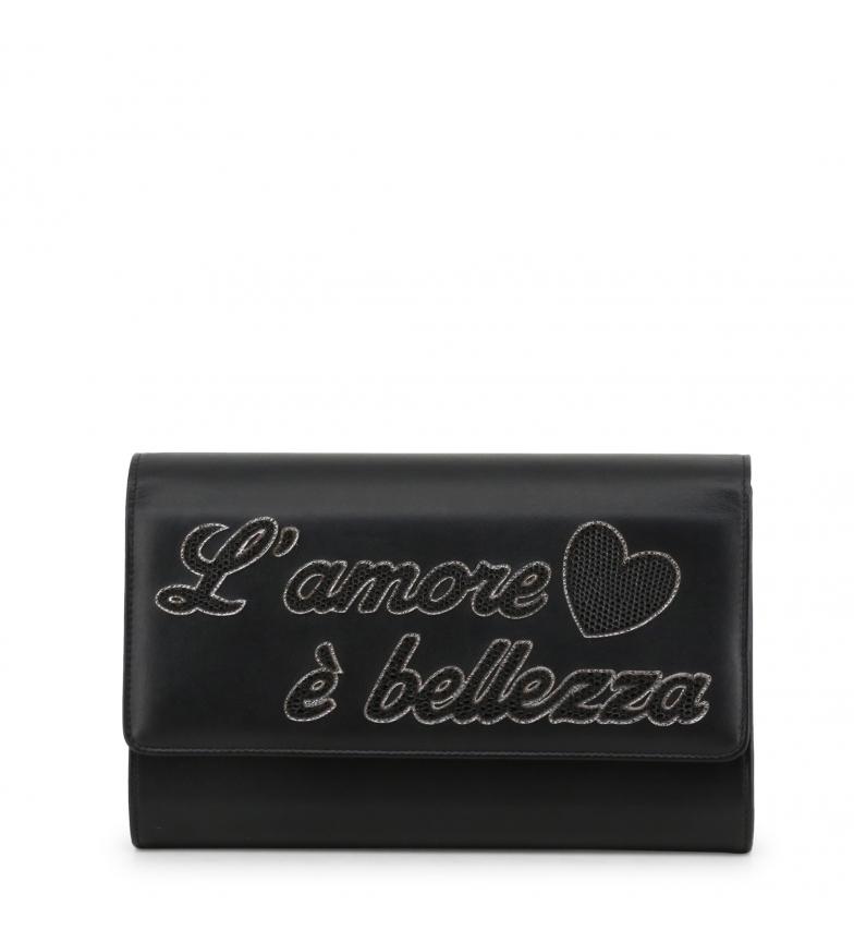 Comprar Dolce & Gabbana Clutch de piel BI1100AU2848 black -23x15x4cm-