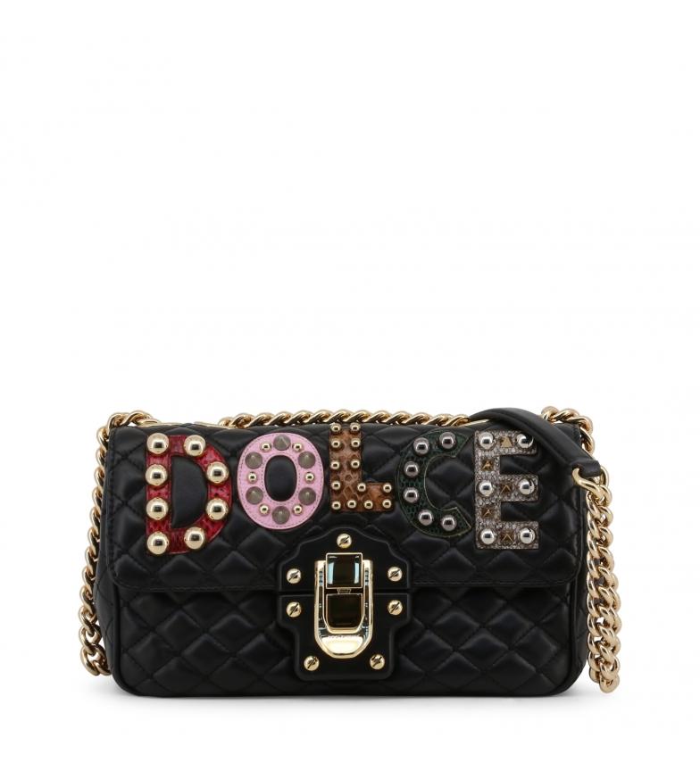 Comprar Dolce & Gabbana Bracelet cuir BB6344AI6478 noir -24x15x8x8cm