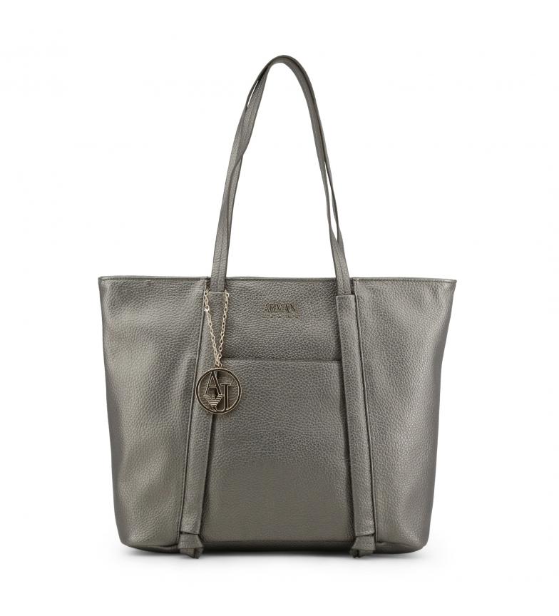 Comprar Armani Jeans Shopping bag 922341_CD813 grey -41.5x30.5x12.5Cm-