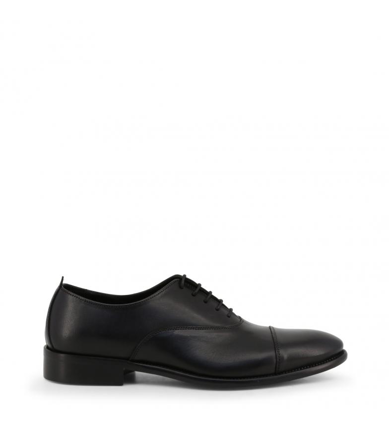 Comprar Made In Italia Sapatos com atacadores de couro TARUMBO preto