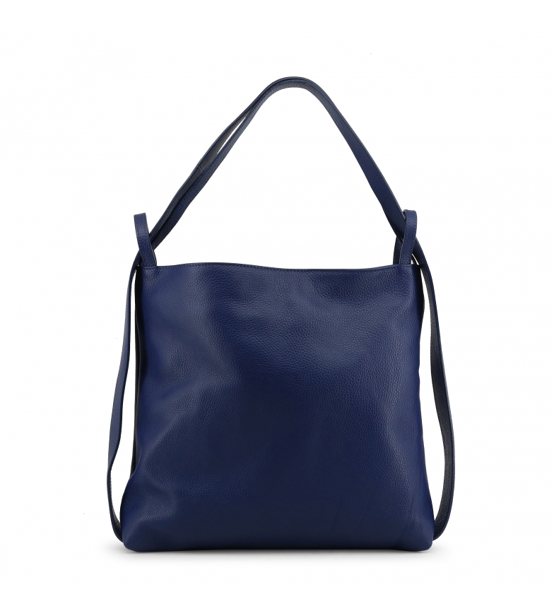 Comprar Made In Italia Bolsos de peil MADDALENA blue -37x34x10cm-