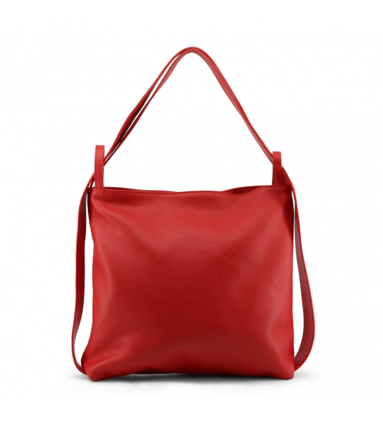 Comprar Made In Italia Bolsos de piel MADDALENA red -37x34x10cm-