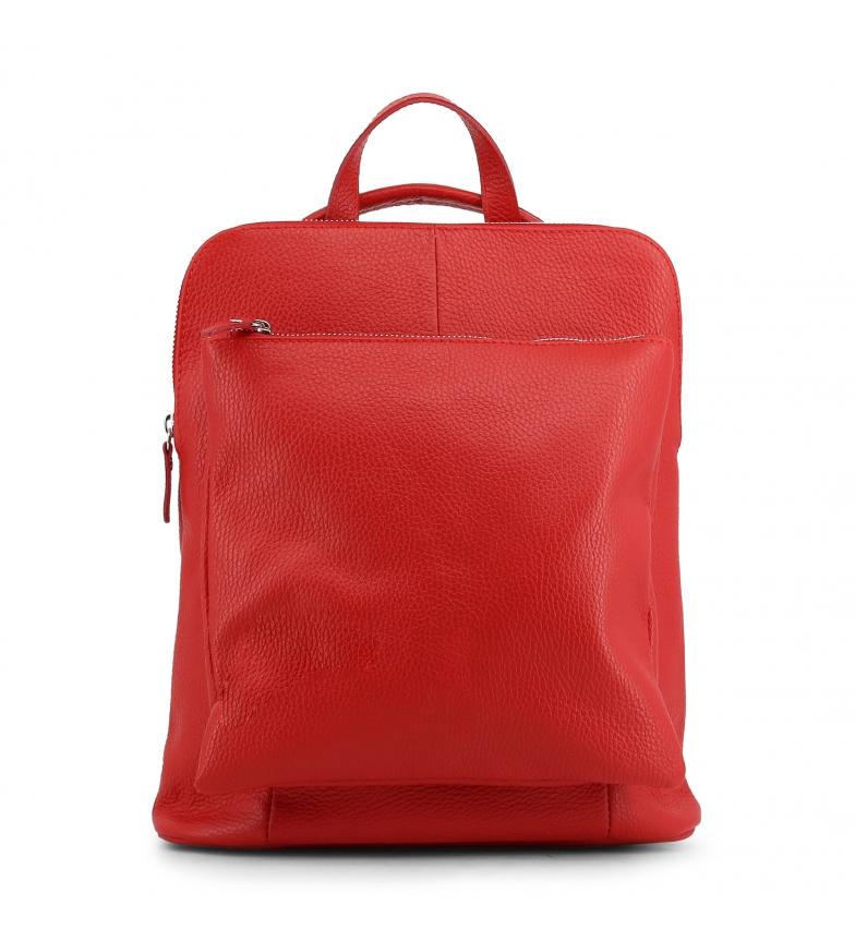 Comprar  Mochila de piel ISADORA red -29x31x13cm-