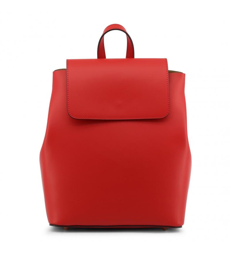 Comprar Made In Italia Mochila de piel MATILDA red -27x30x13cm-