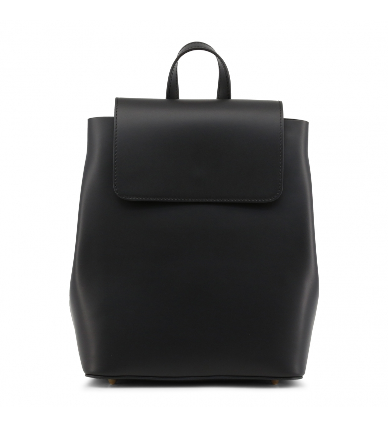 Comprar Made In Italia Leather backpack MATILDA black -27x30x13cm