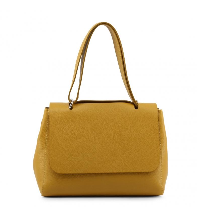 Comprar Made In Italia Bolsos de piel ISOTTA yellow -33x22x15cm-